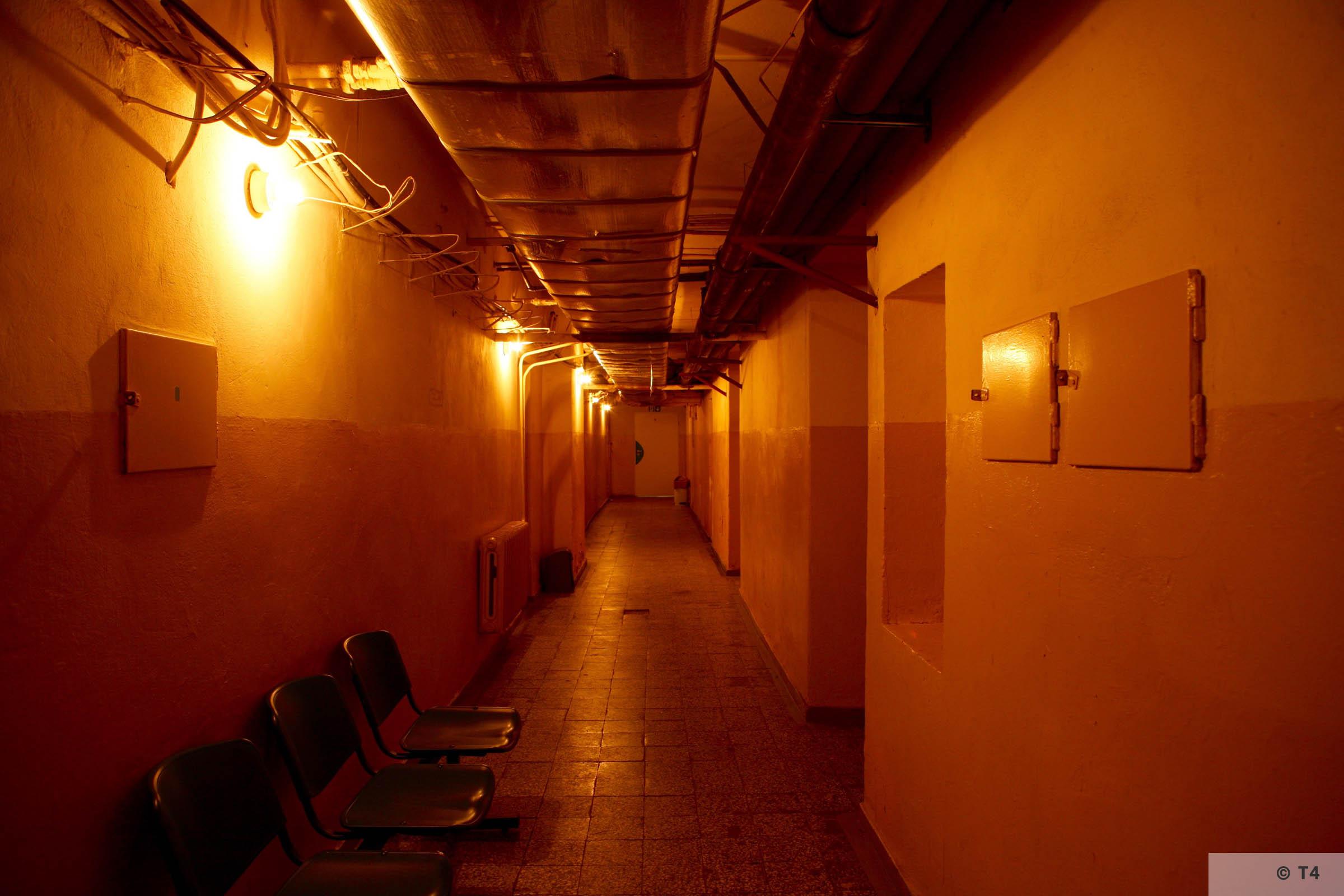 Cellar of former Gestapo headquarters in Katowice. 2007 T4 5724