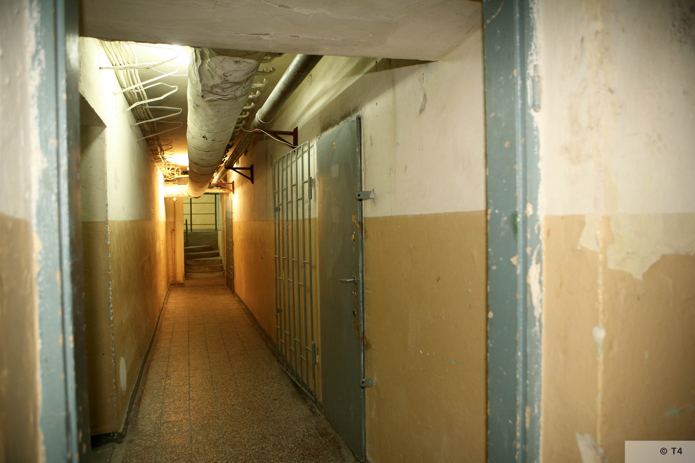 Cellar of former Gestapo headquarters in Katowice. 2007 T4 5735