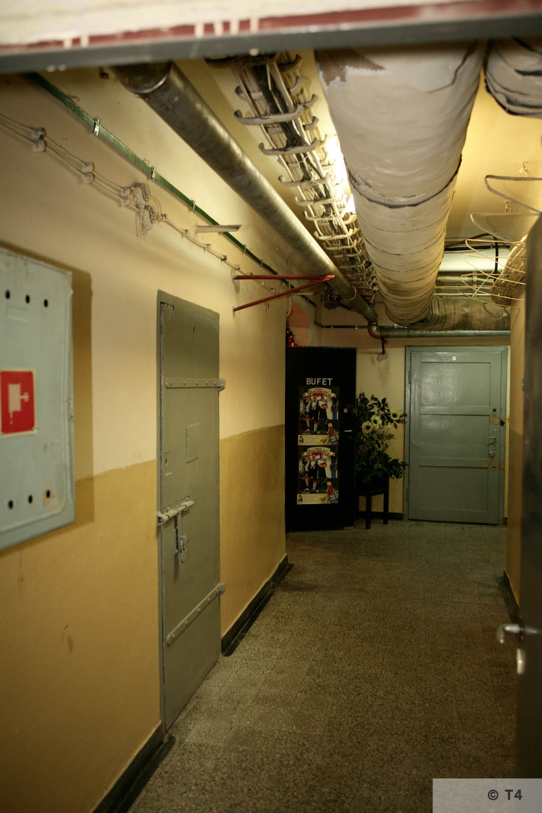 Cellar of former Gestapo headquarters in Katowice. 2007 T4 5740
