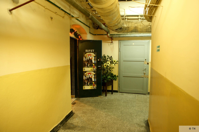 Cellar of former Gestapo headquarters in Katowice. 2007 T4 5745