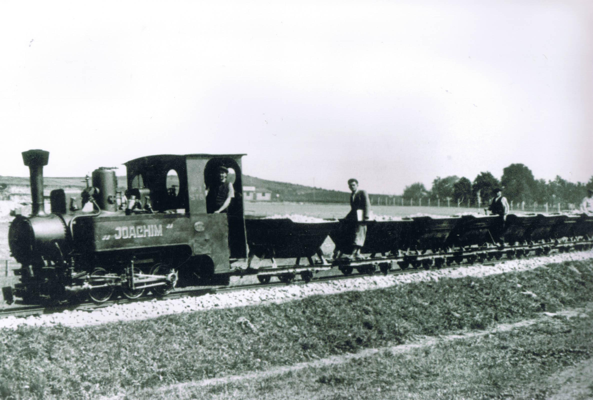 Chelmek narrow gauge railway 1942. Tomasz Batta Memorial House