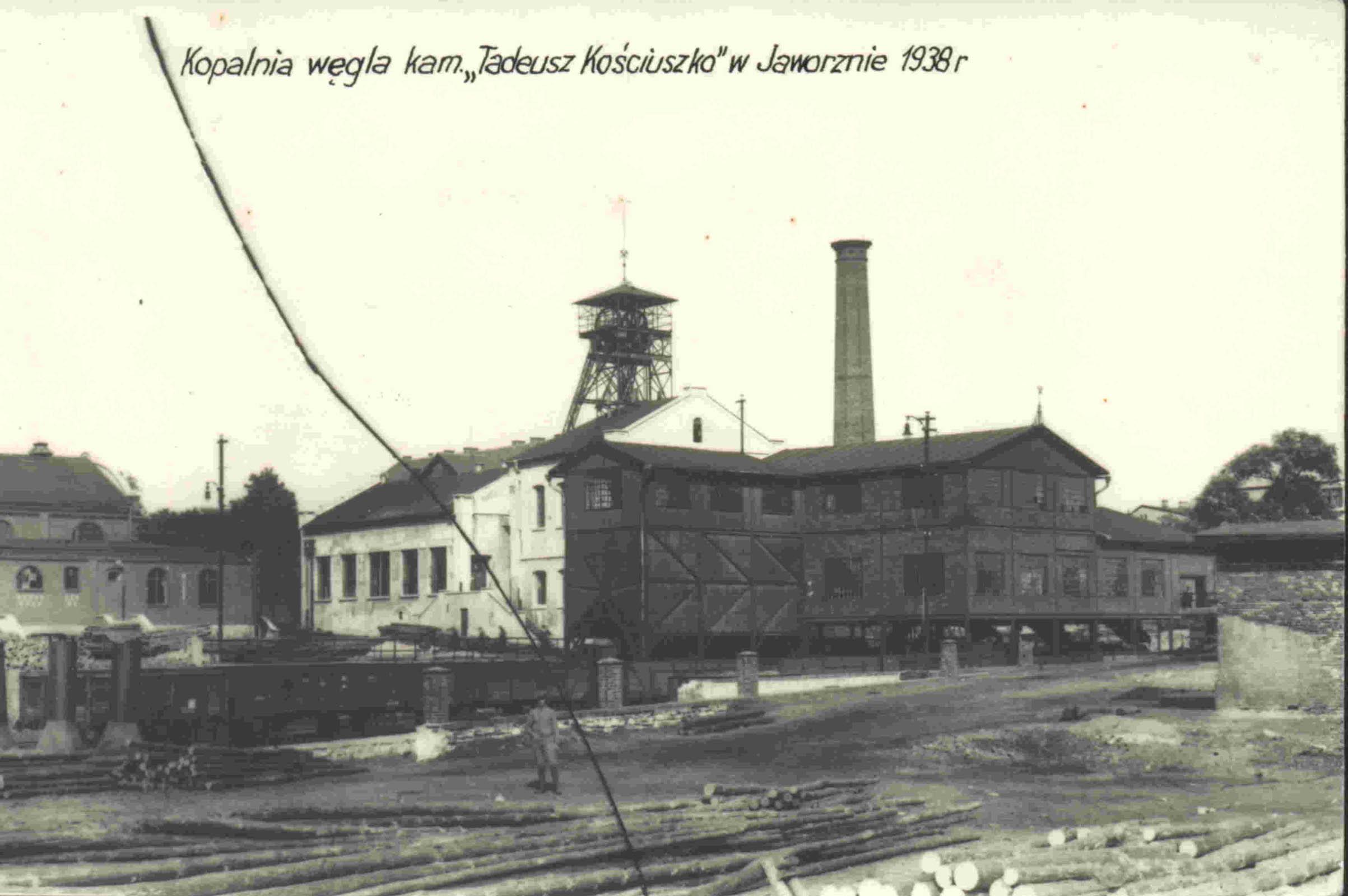 Coal mine Jaworzno. 1938 Muzeum w Jaworznie