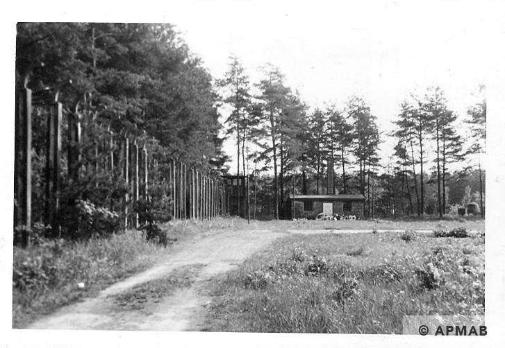 Crematorium in SE corner of the camp. 1965 APMAB 8772
