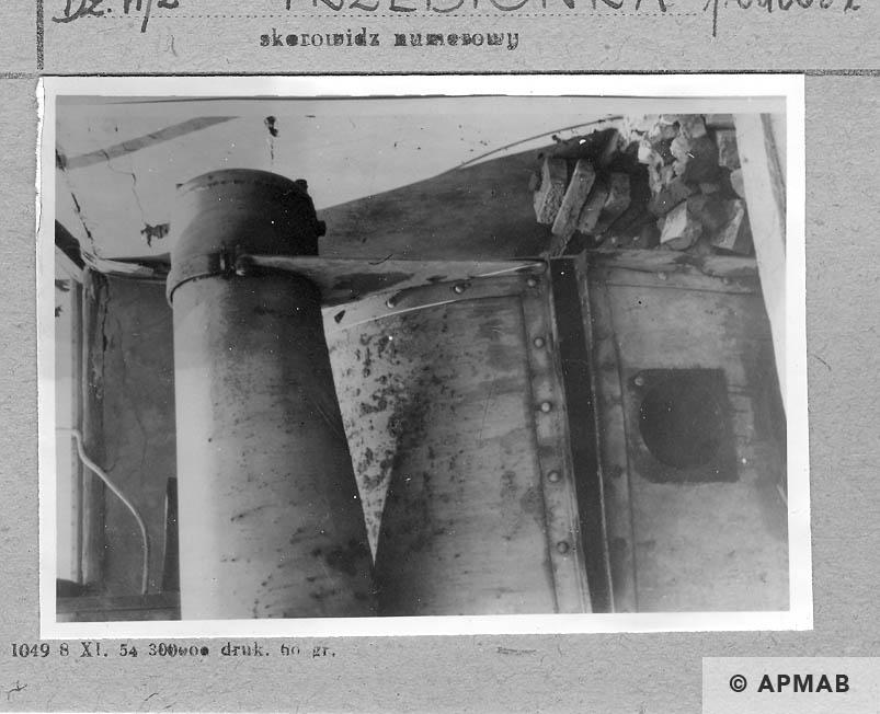 Crematory oven. APMAB 6687