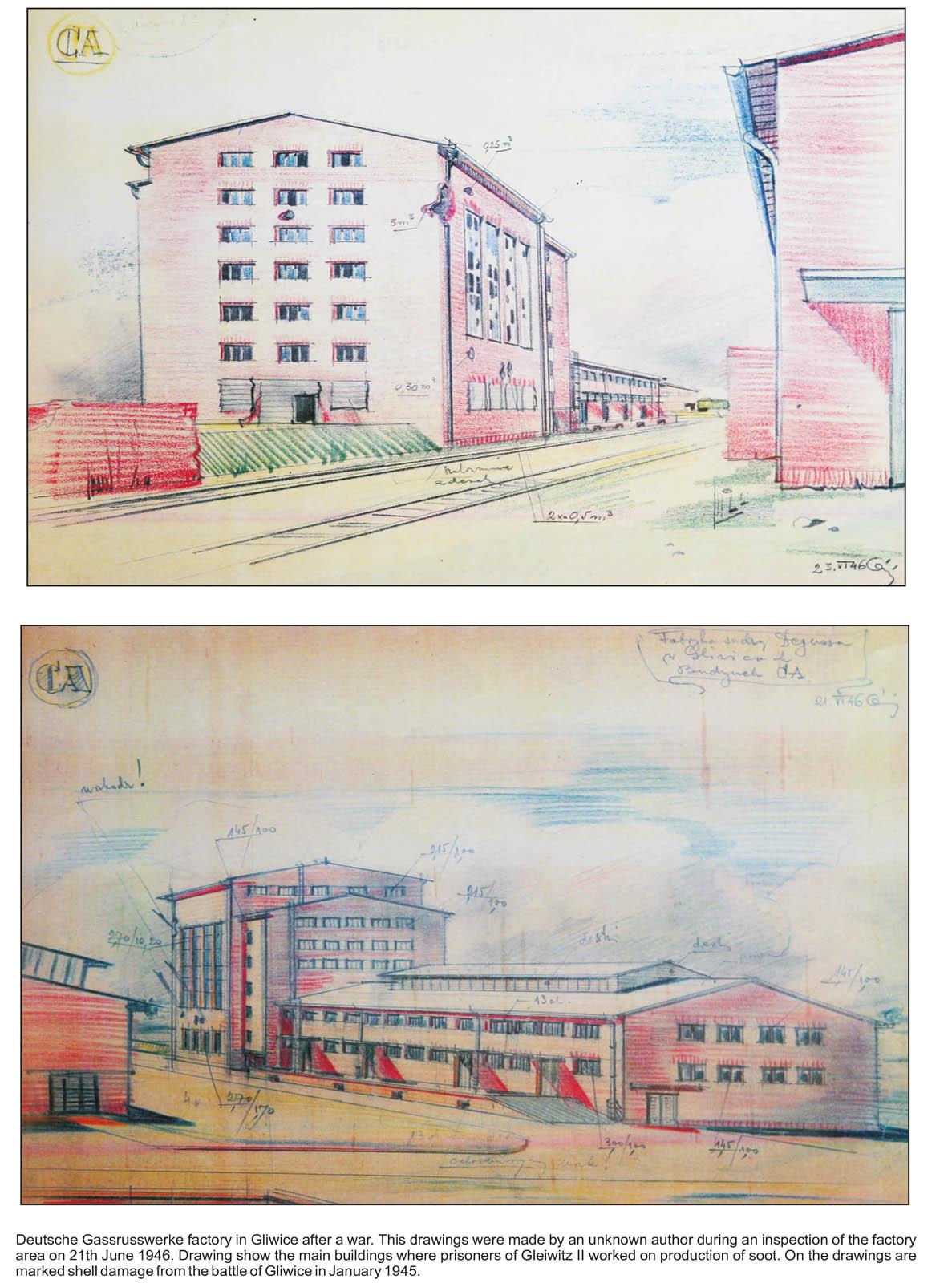 Drawings of Deutsche Garusswerke