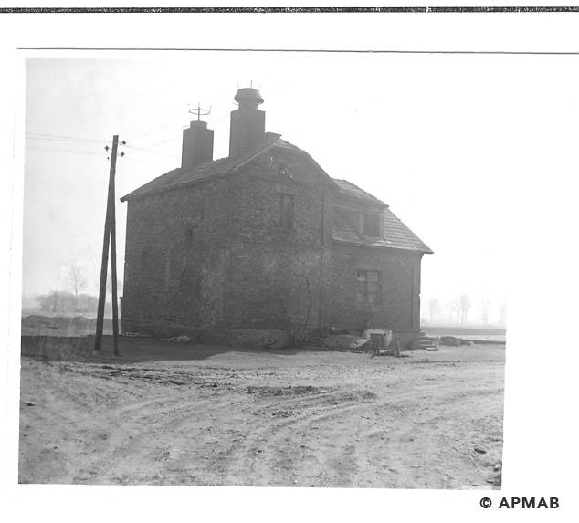 Drying house for herbs - Hygiene Institut der Waffen SS in Auschwitz. 1968 APMAB 15478