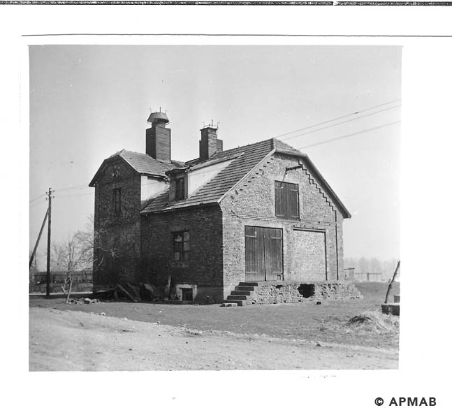Drying house for herbs - Hygiene Institut der Waffen SS in Auschwitz.1968 APMAB 15477