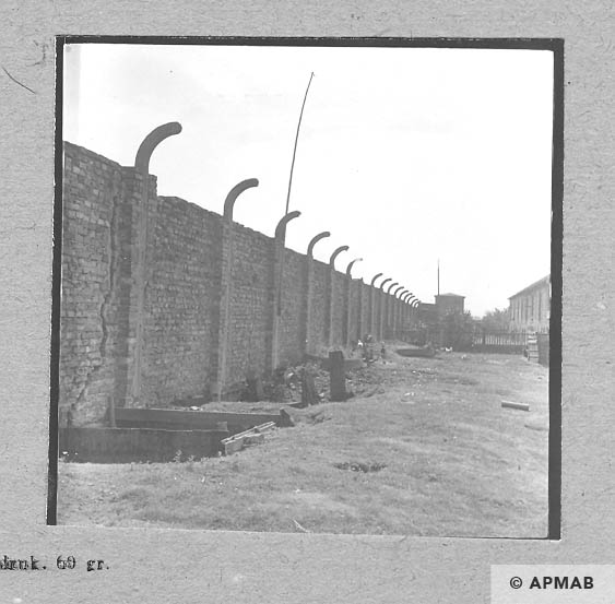 East border of the camp. 1963 APMAB 5694