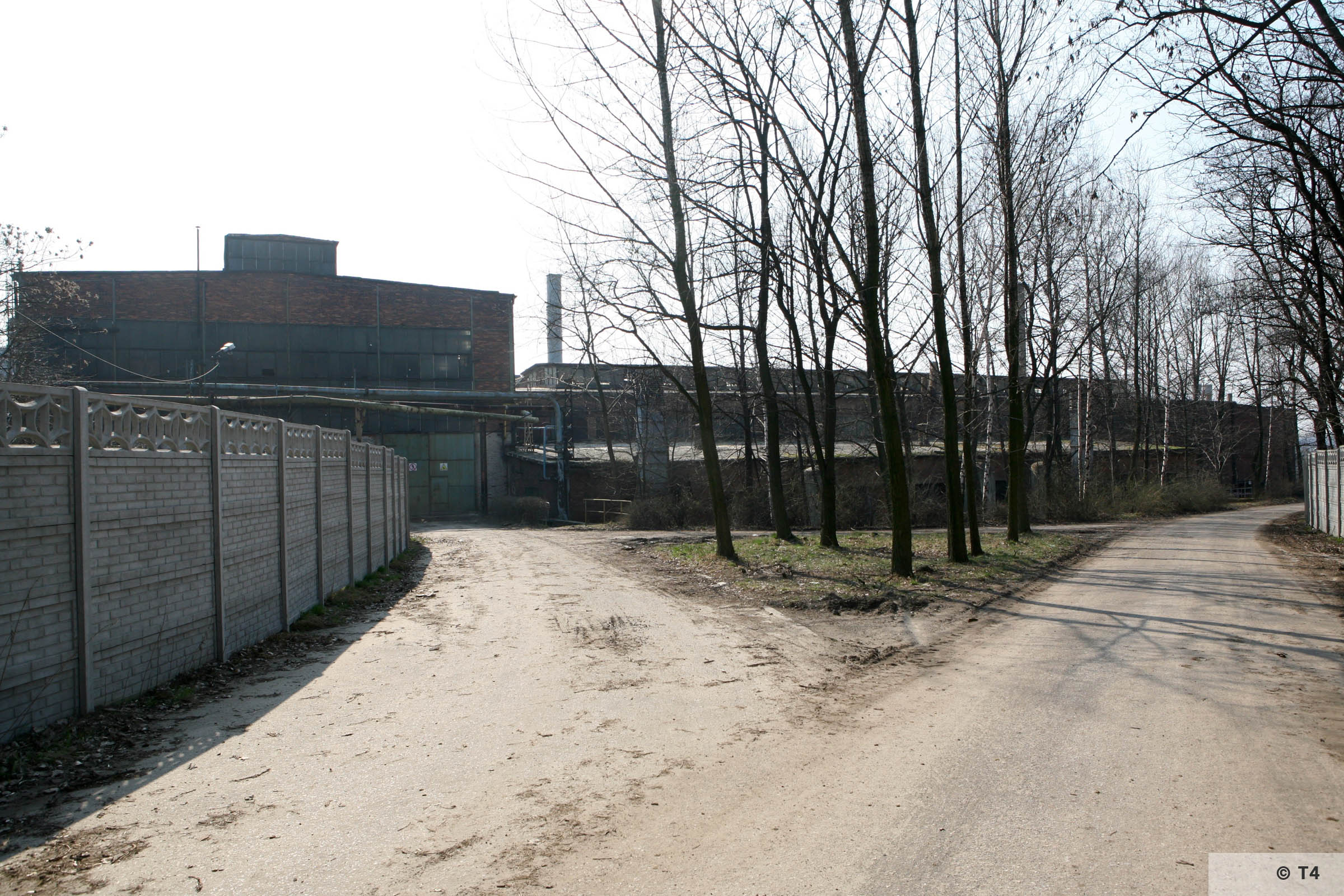 Entrance to steel works from prisoner camp. 2007 T4 6689