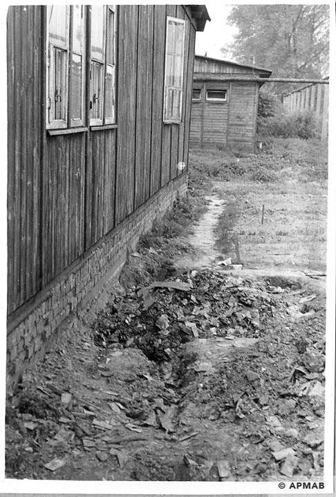 Excavations carried out in the sub camp. 1966 APMAB 10045