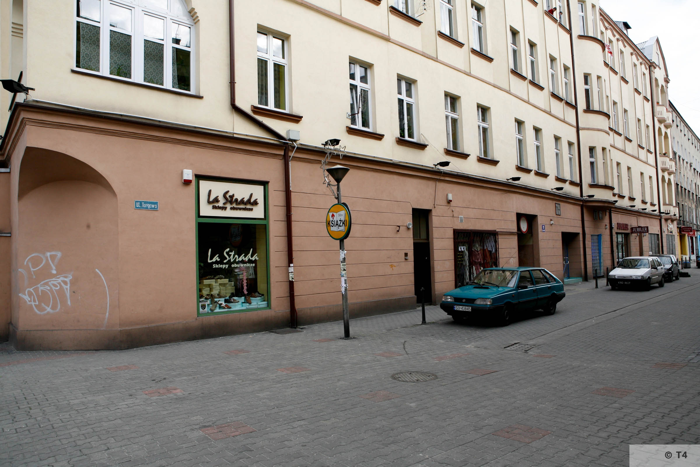 Former Central Jewish Communities Headquarters in Sosnowiec. T4 2005 6361