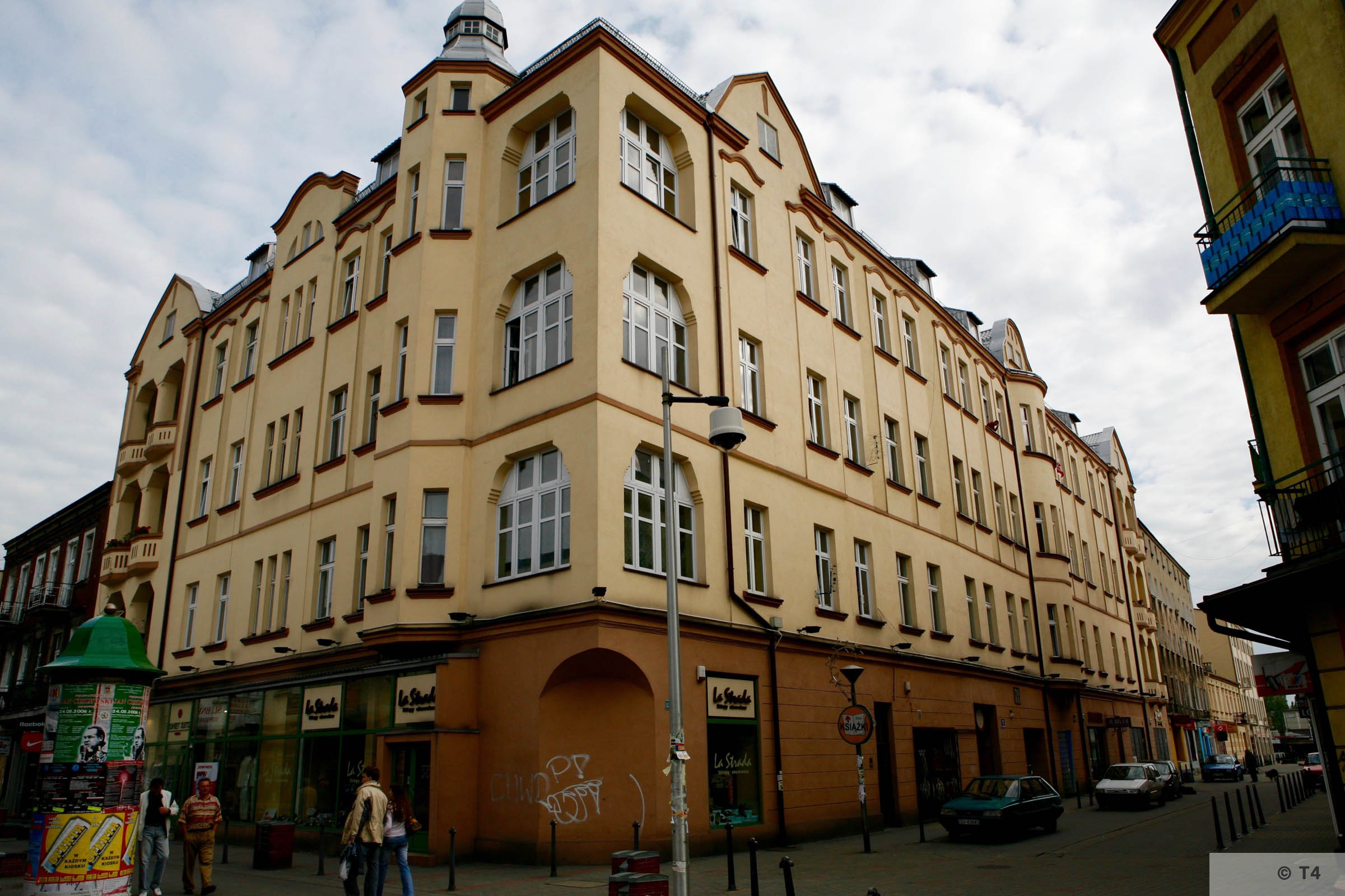 Former Central Jewish Communities Headquarters in Sosnowiec. T4 2005 6363