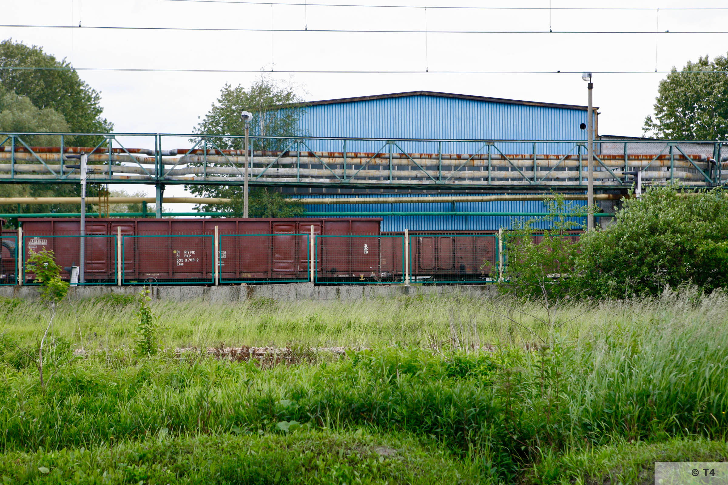 Former Count Renard steel works. 2006 T4 6381