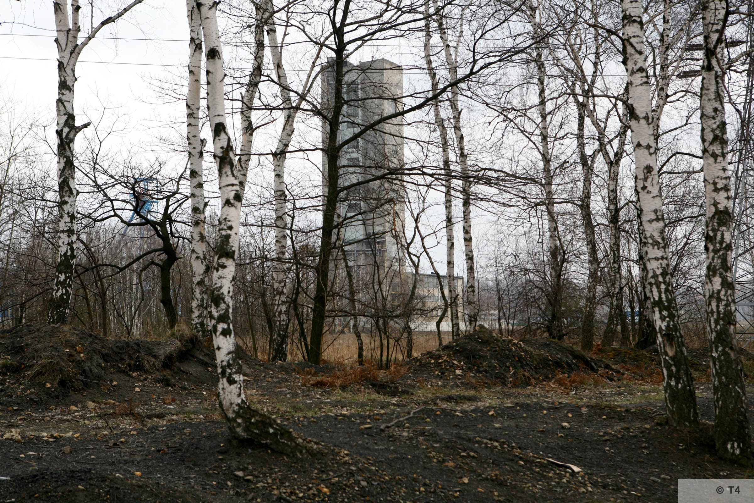 Former Dachsgrube mine. 2007 T4 6251