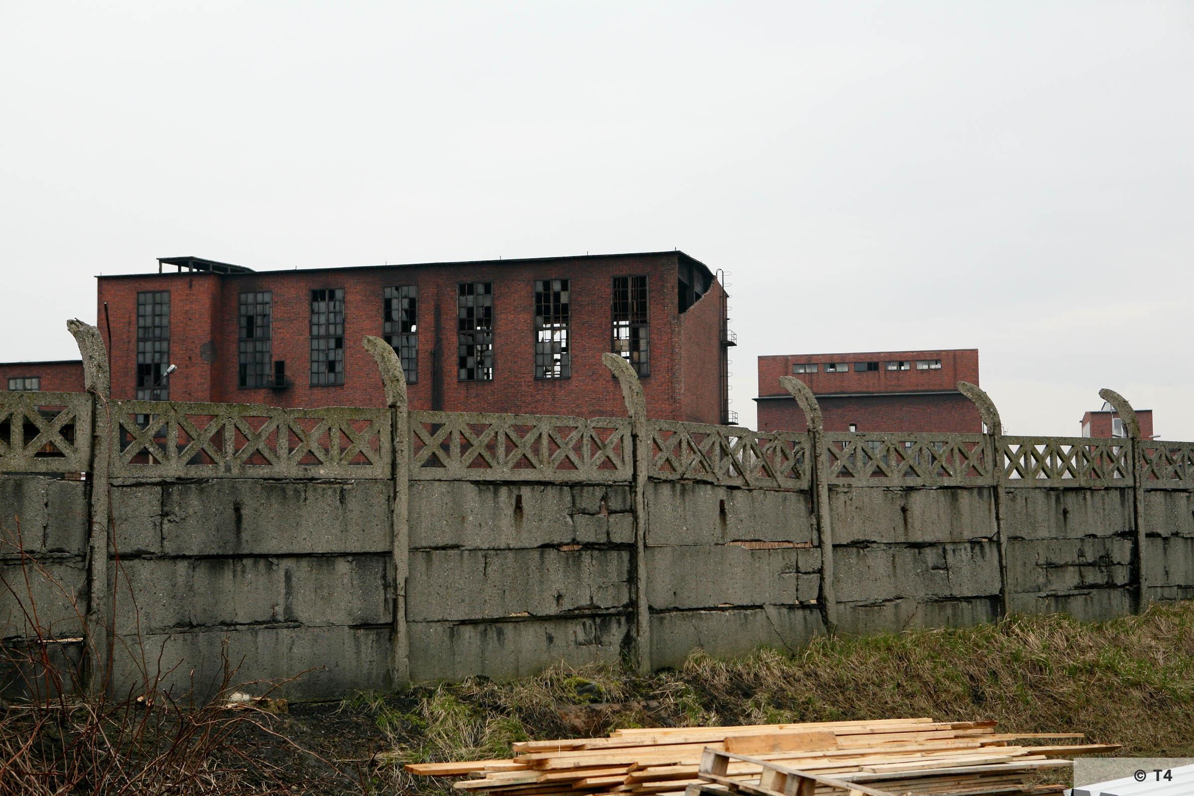 Former Deutsche Garusswerke. 2007 T4 5115