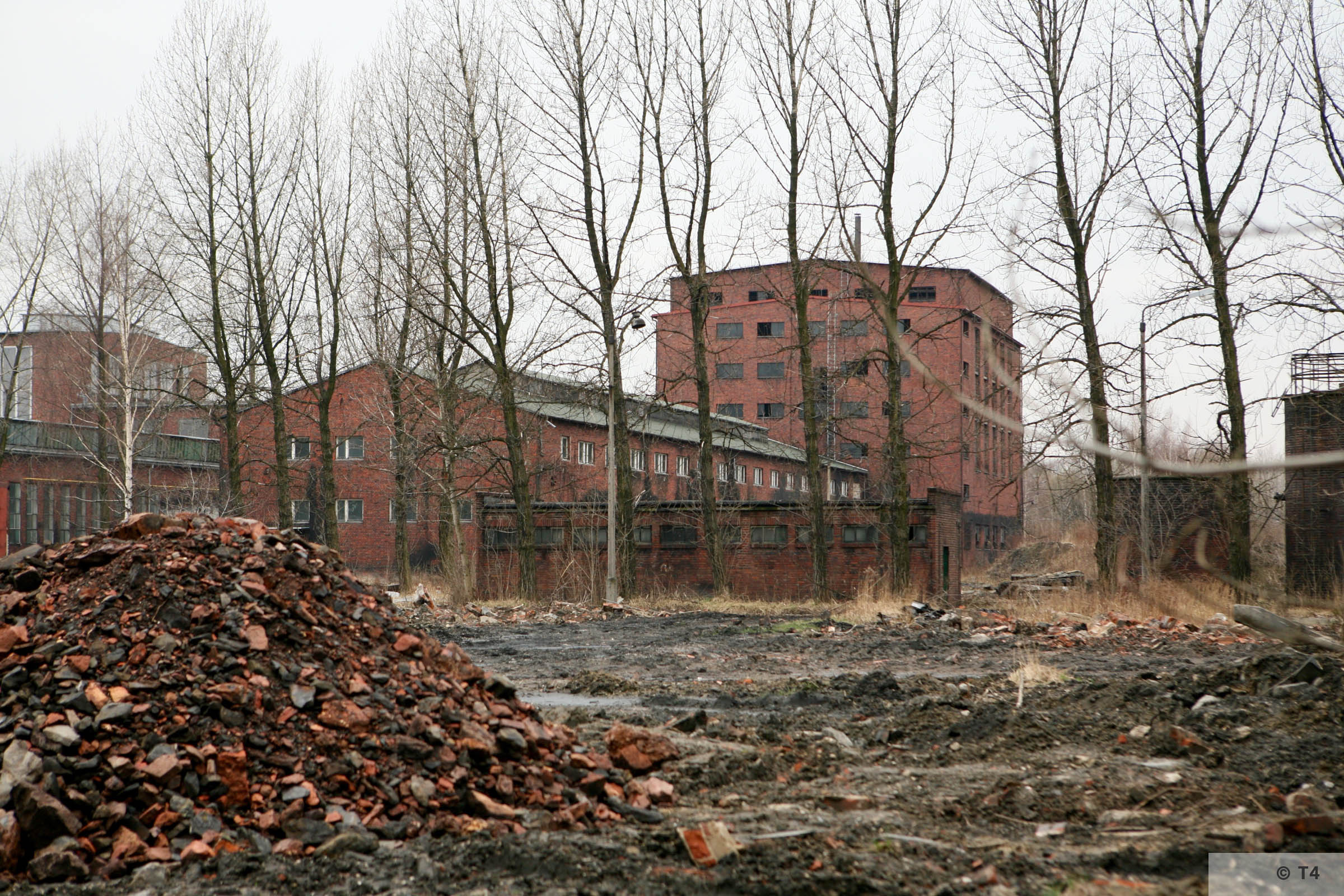 Former Deutsche Garusswerke. 2007 T4 5190