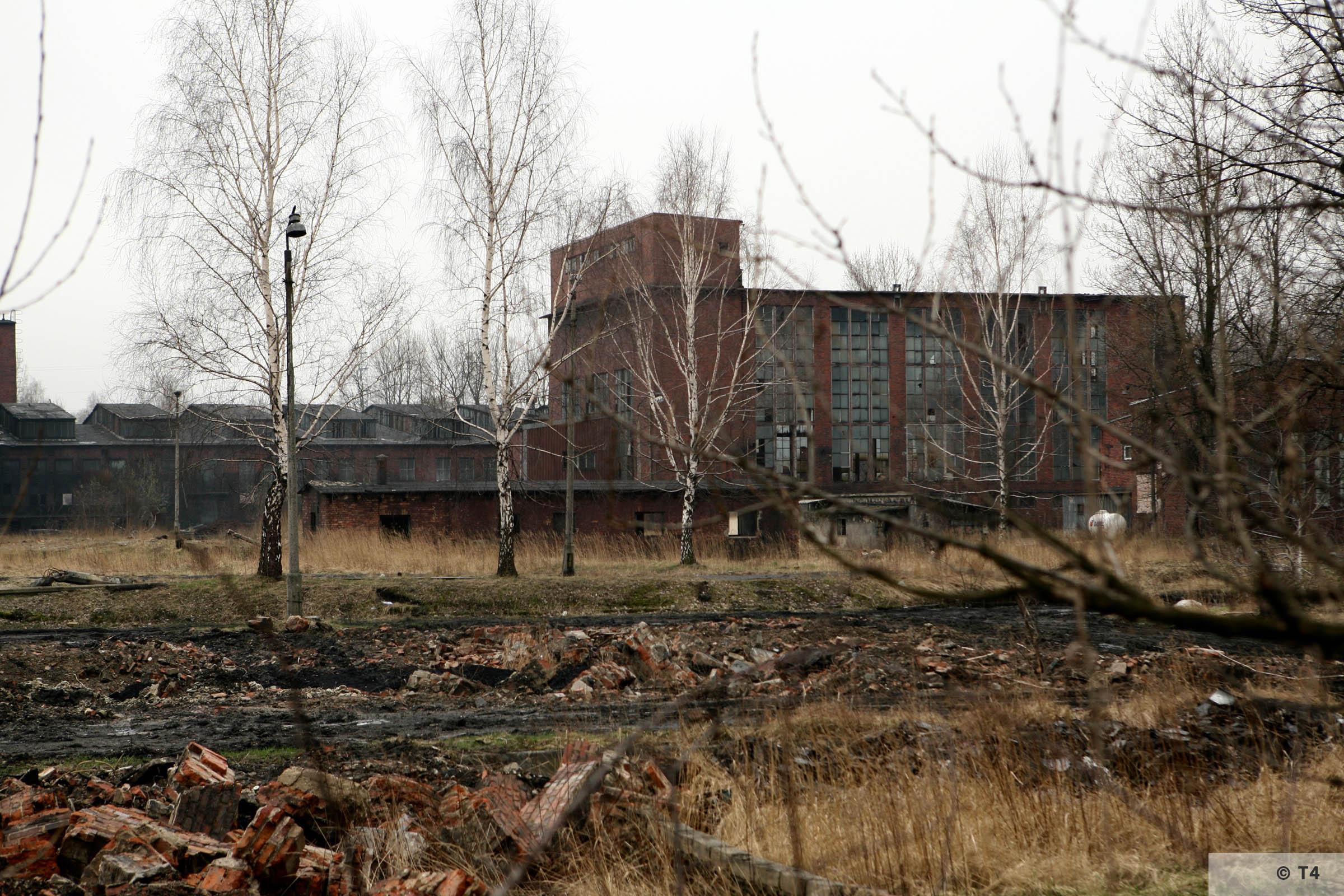 Former Deutsche Garusswerke.View from the former sub camp area. 2007 T4 5045