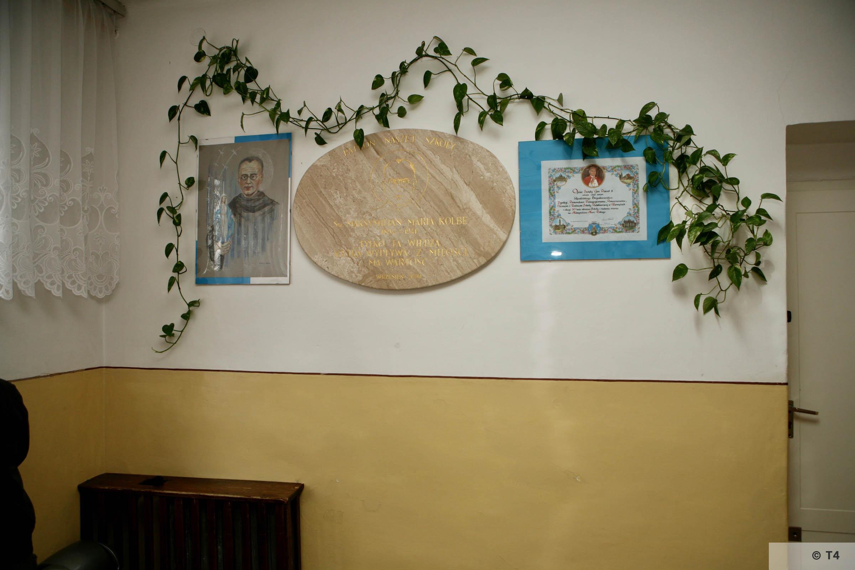Former Gustav Zwilling villa now a school small permanent exhibition on Saint Maximilian Maria Kolbe. 2007 T4 3050
