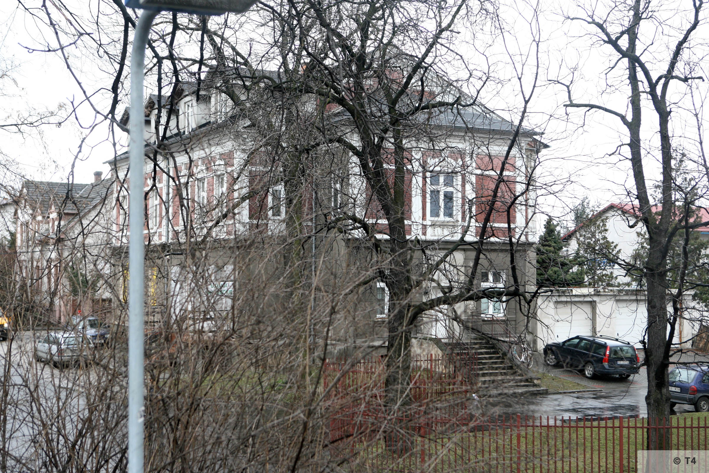 Former Hernryk Feliks beer plant office building. Office and accomodation for the SS guards. 2007 T4 4473
