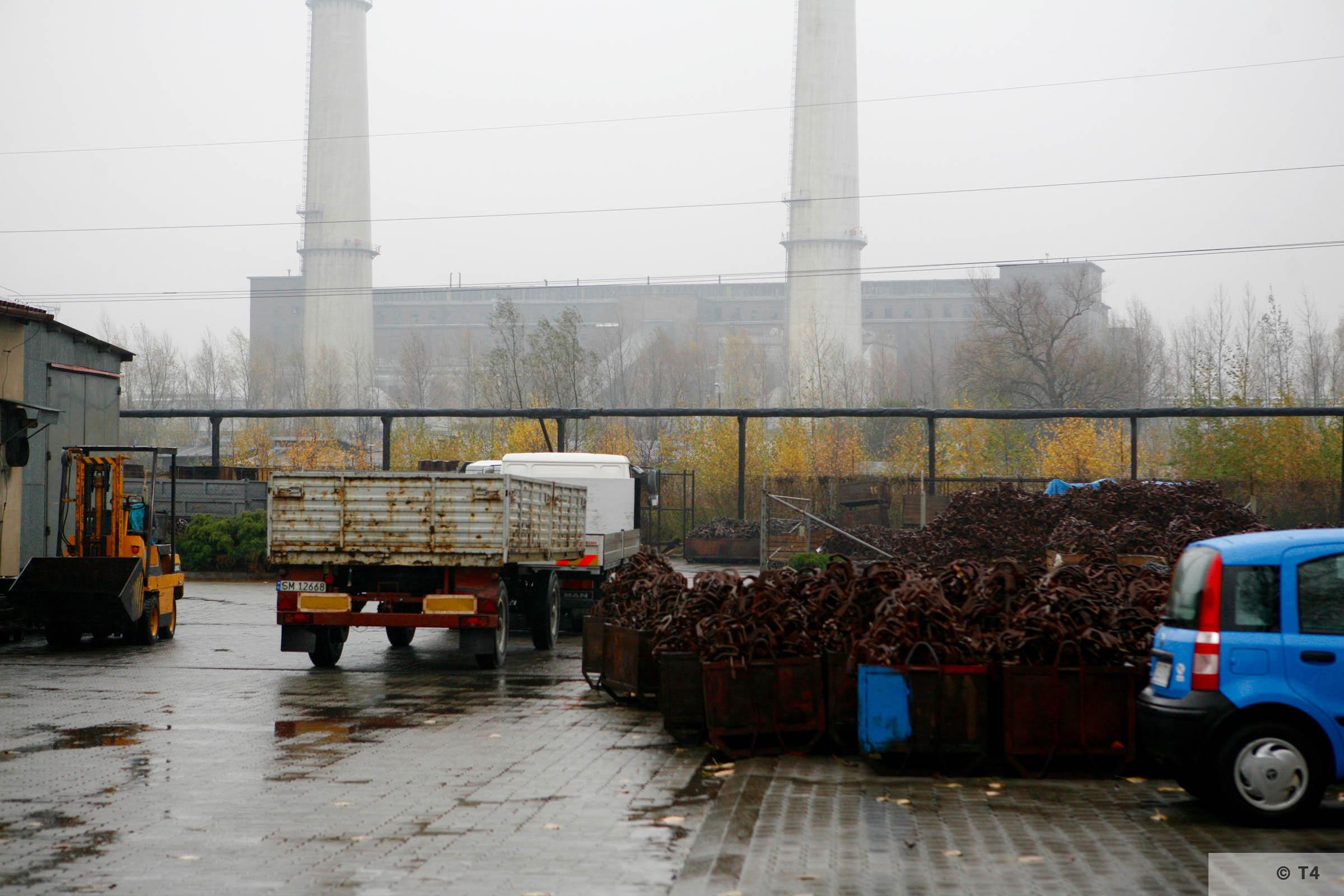 Former IG Farben Buna plant. 2006 T4 4205