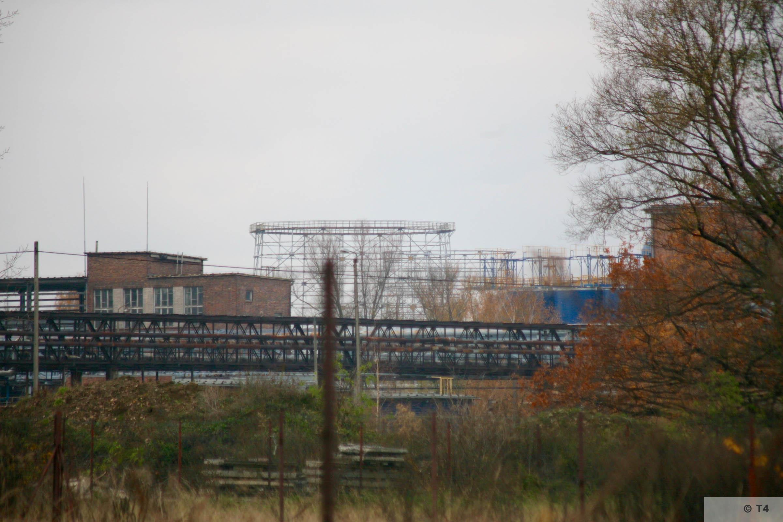 Former IG Farben Buna plant. 2008 T4 3503