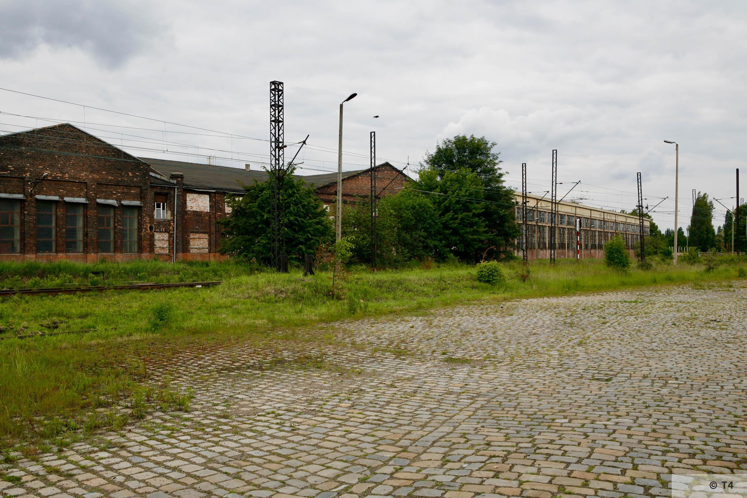 Former Laurahütte steel works. 2007 T4 6329