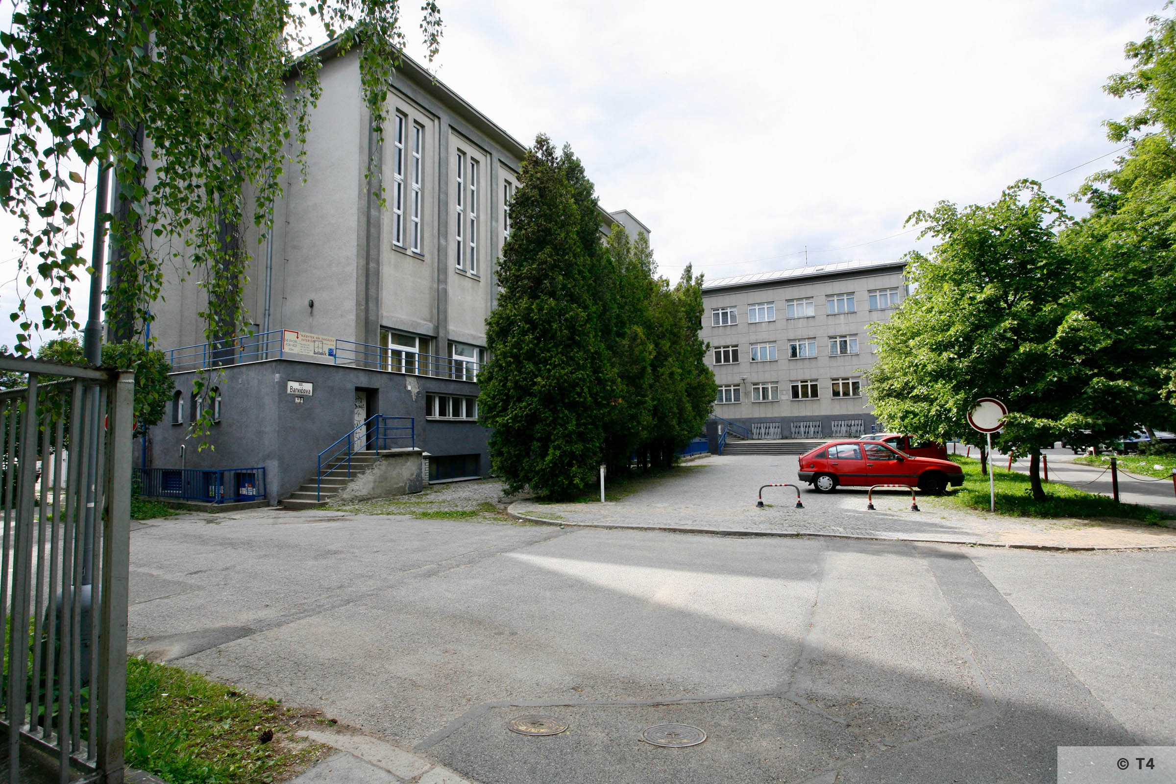 Former SS Technical Academy. 2006 T4 5780