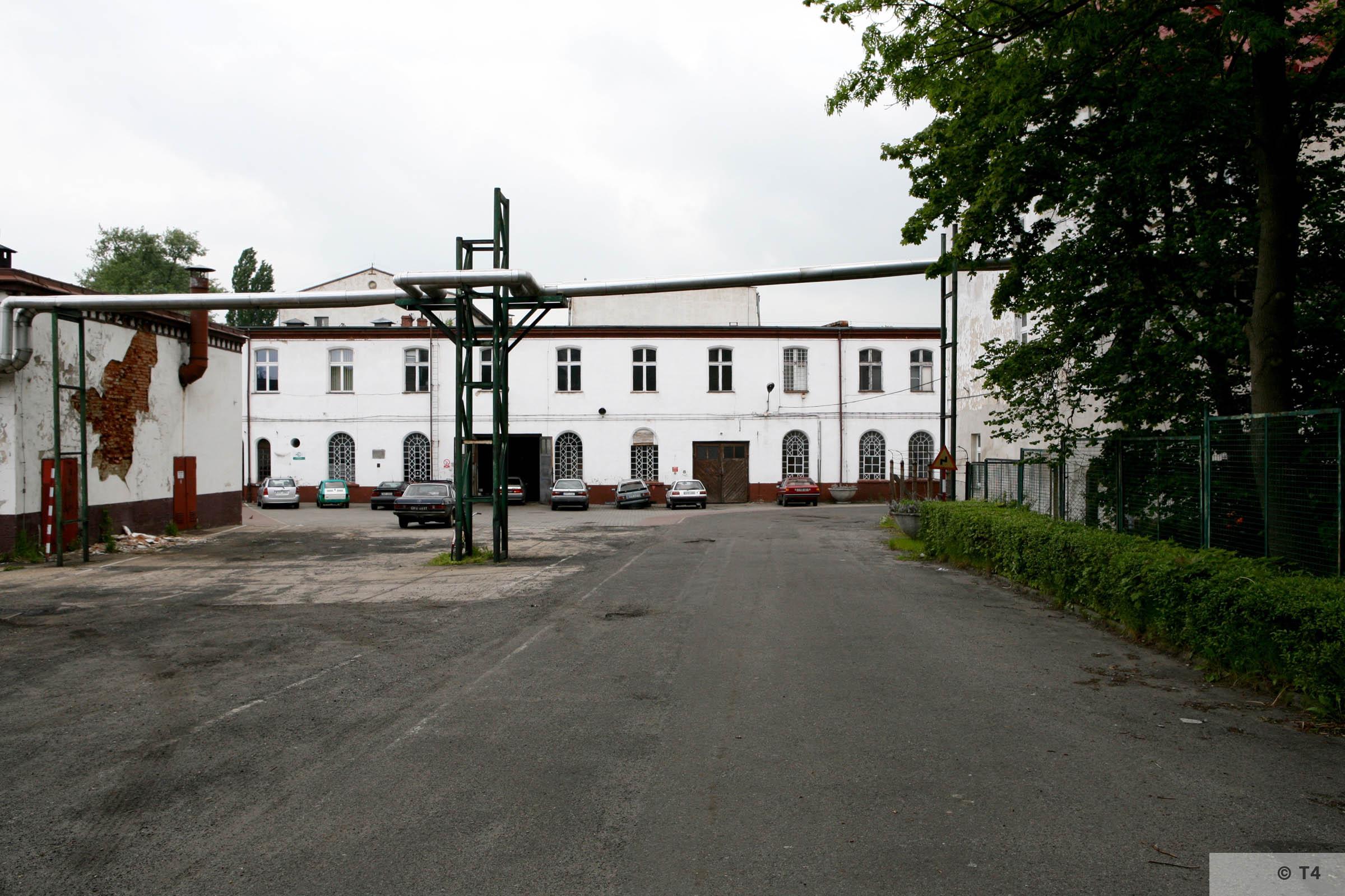 Former Schlesische Feinweberei AG textile mill. 2006 T4 5173