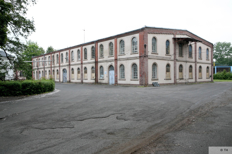 Former Schlesische Feinweberei AG textile mill. 2006 T4 5188