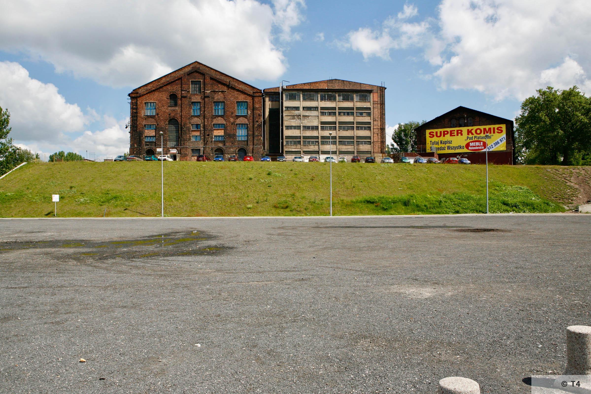 Former Zabrze steel works. 2006 T4 6194