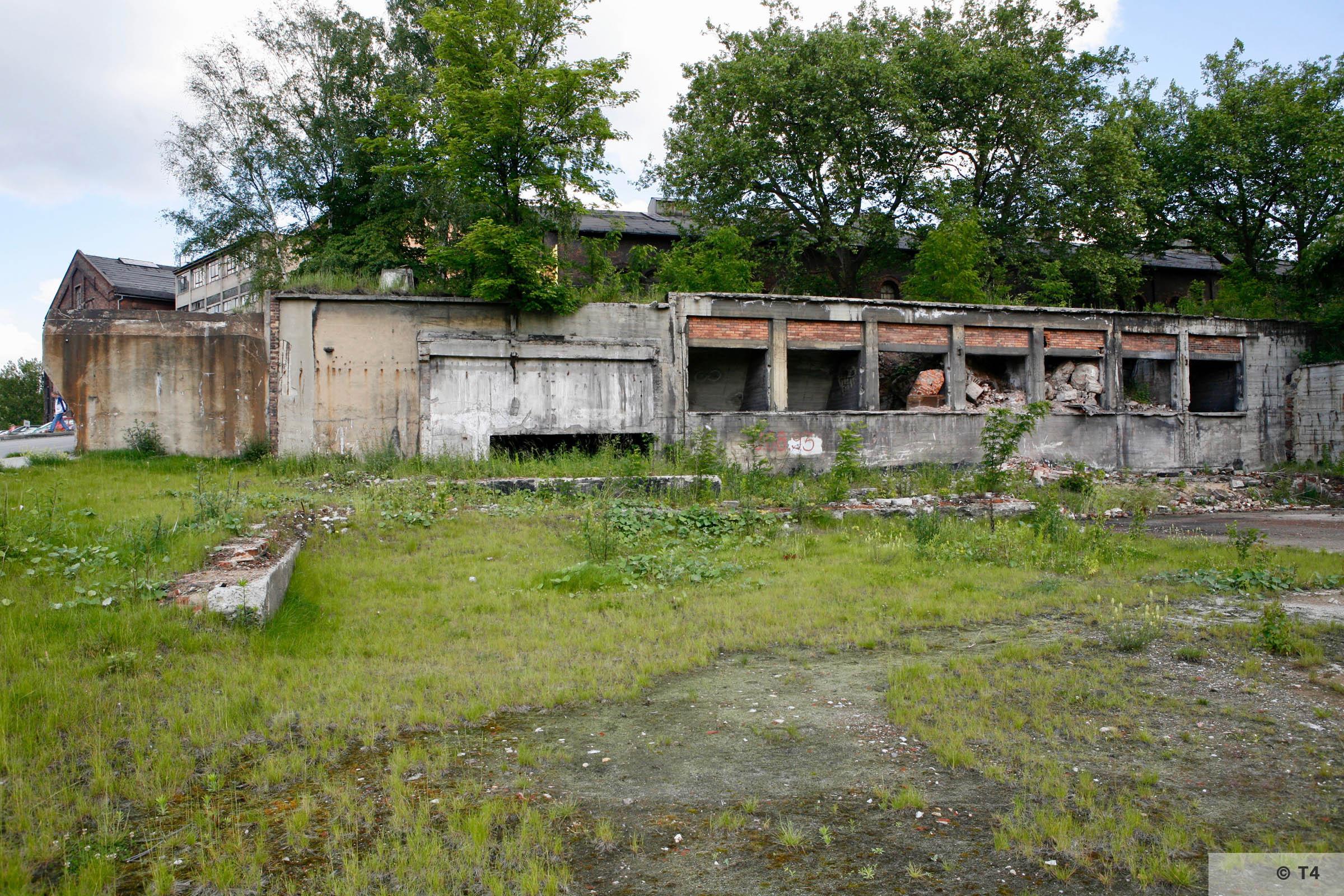Former Zabrze steel works. 2006 T4 6196