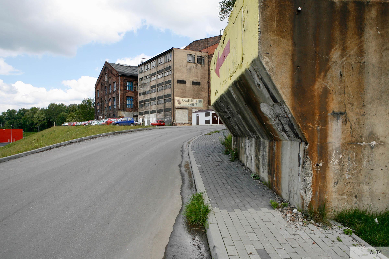 Former Zabrze steel works. 2006 T4 6201