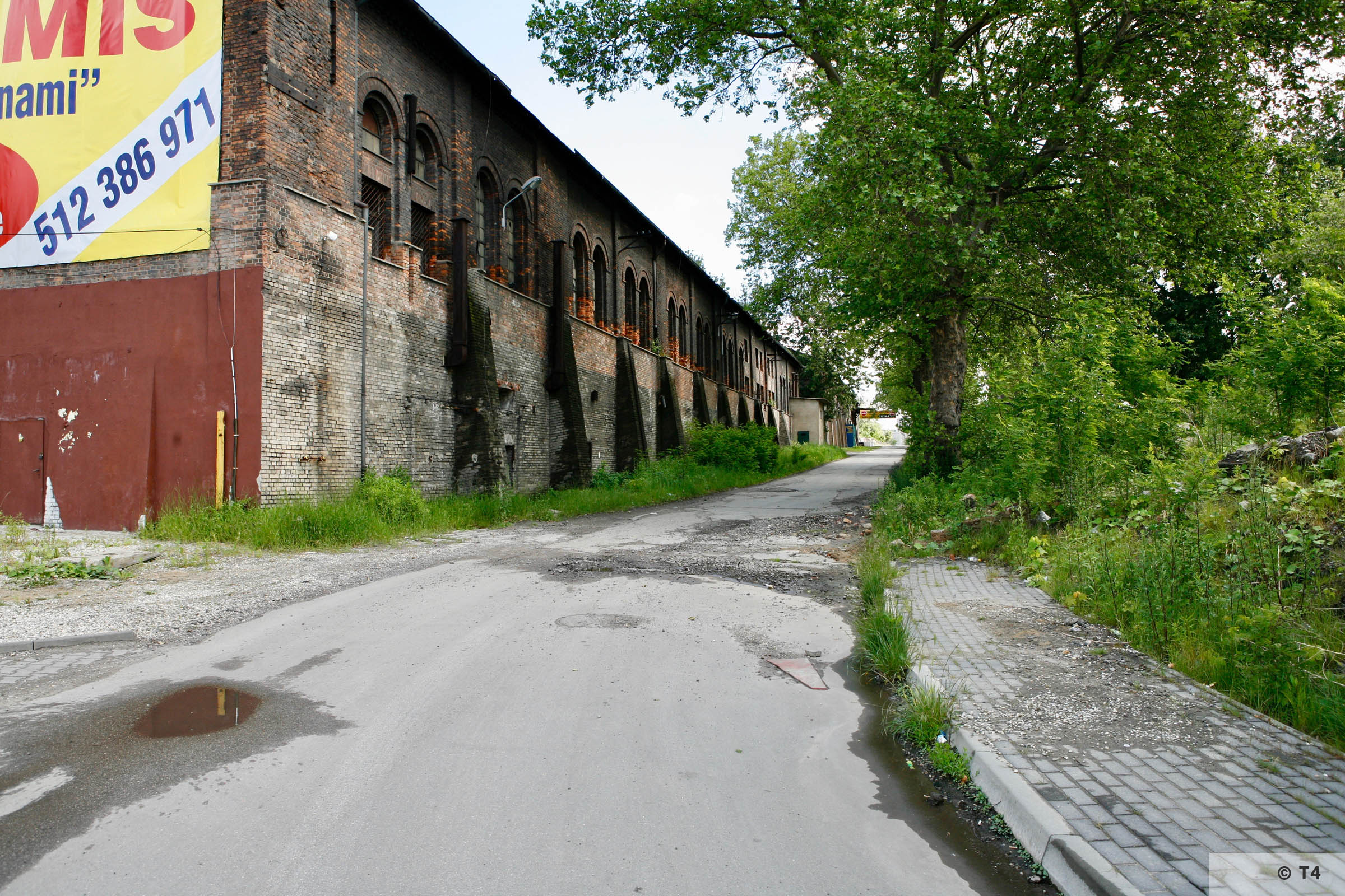 Former Zabrze steel works. 2006 T4 6204