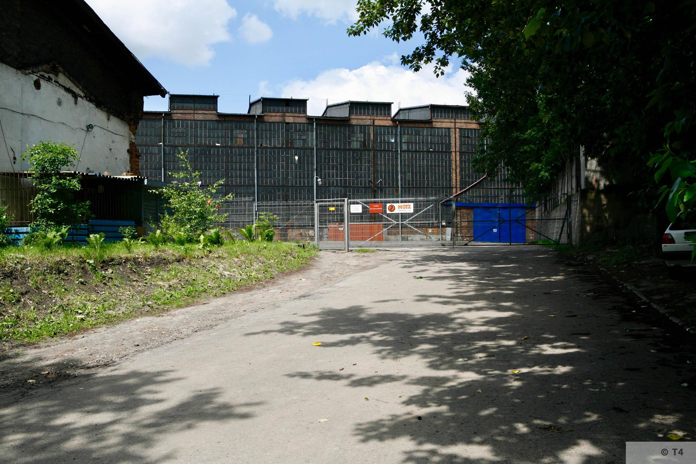 Former Zabrze steel works. 2006 T4 6208