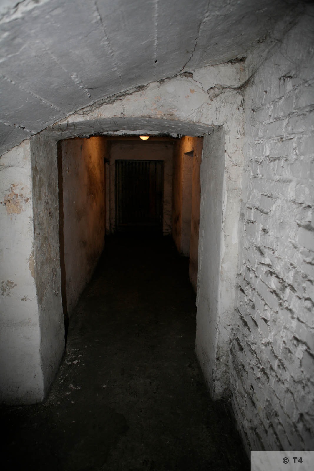 Former cells in the basement of the amdinistration building and prisoner accomodation. 2008 T4 4569