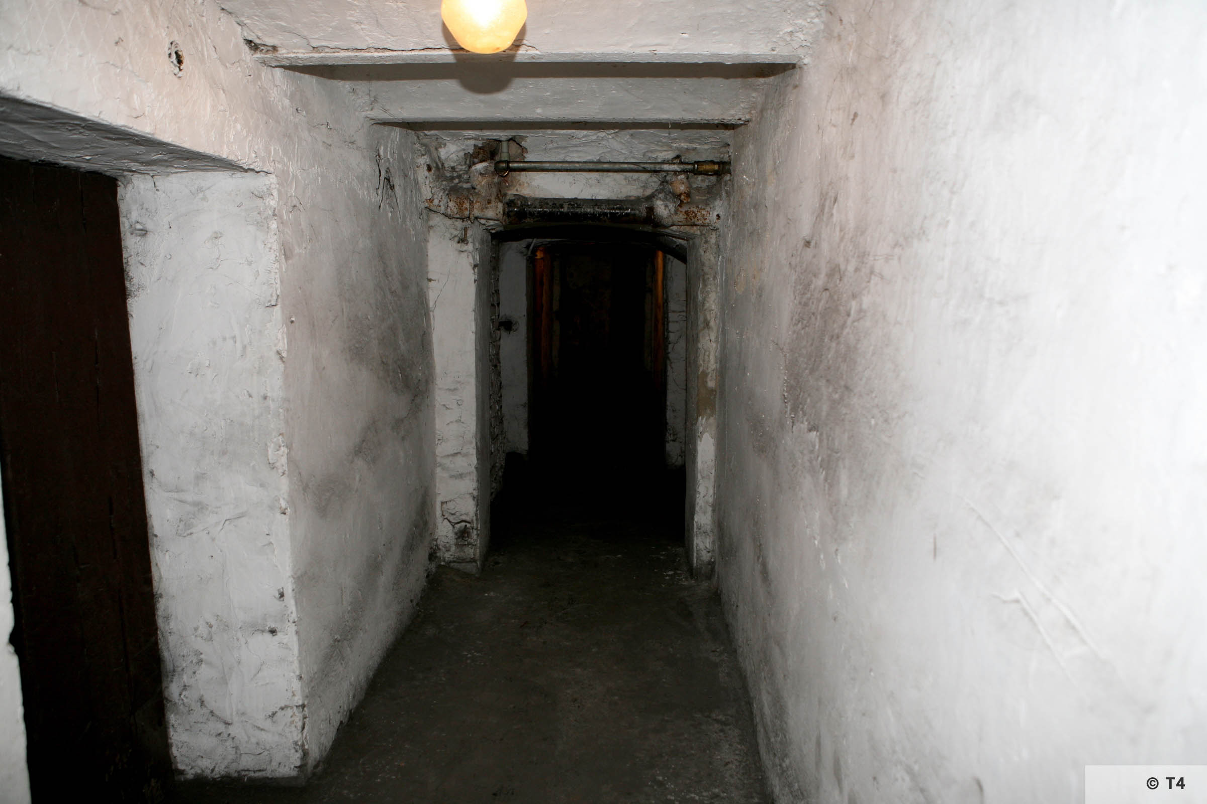 Former cells in the basement of the amdinistration building and prisoner accomodation. 2008 T4 4573