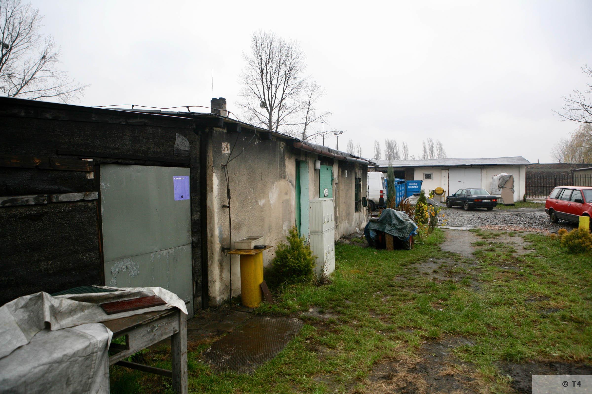 Former kitchen block Hindenburg sub camp. 2007 T4 3673