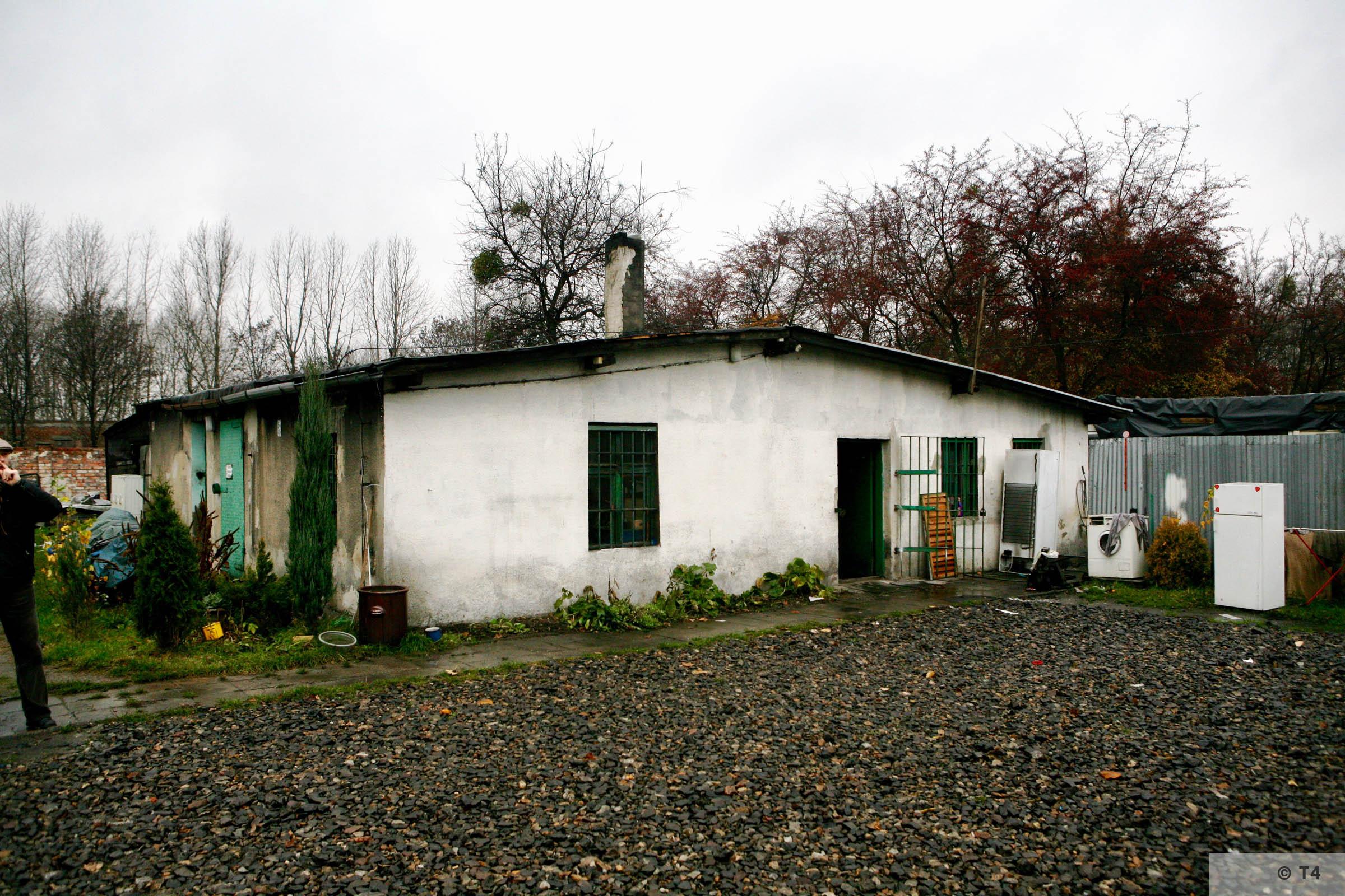 Former kitchen block sub camp Hindenburg. 2007 T4 3670