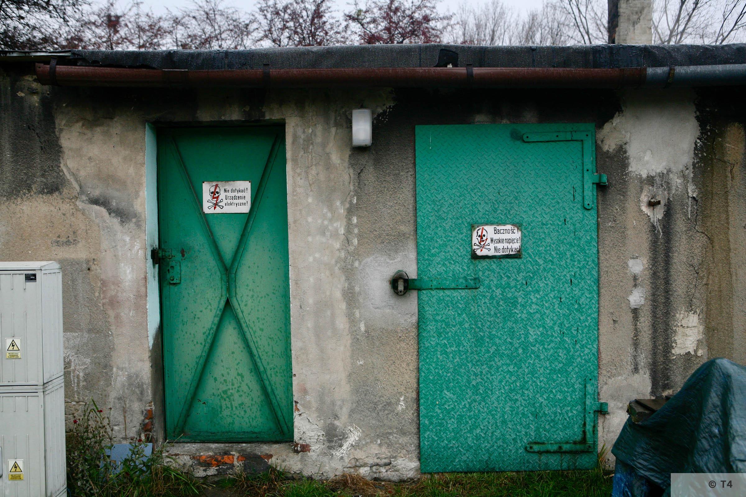 Former kitchen block sub camp Hindenburg. 2007 T4 3672