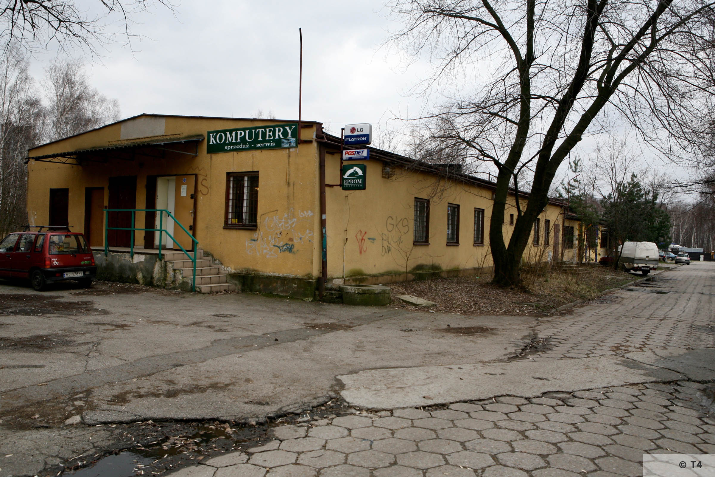 Former prisoner barrack. 2007 T4 6242