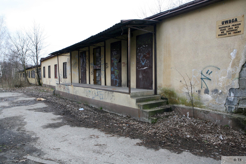 Former prisoner barrack. 2007 T4 6244