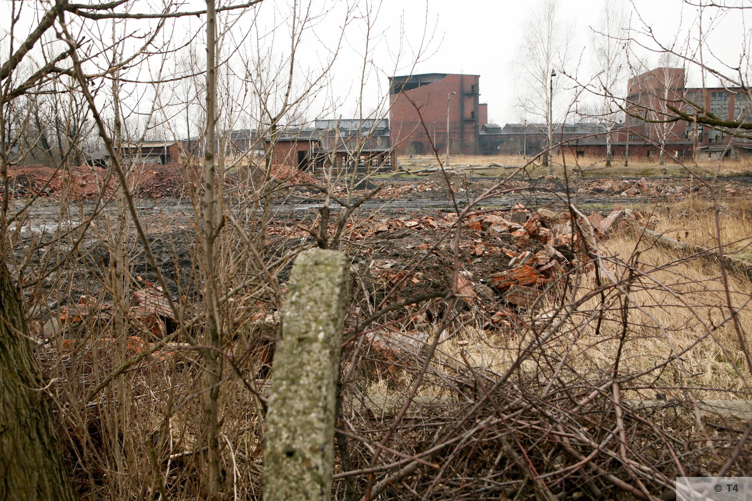 Former sub camp area Gleiwitz II. 2007 T4 5053