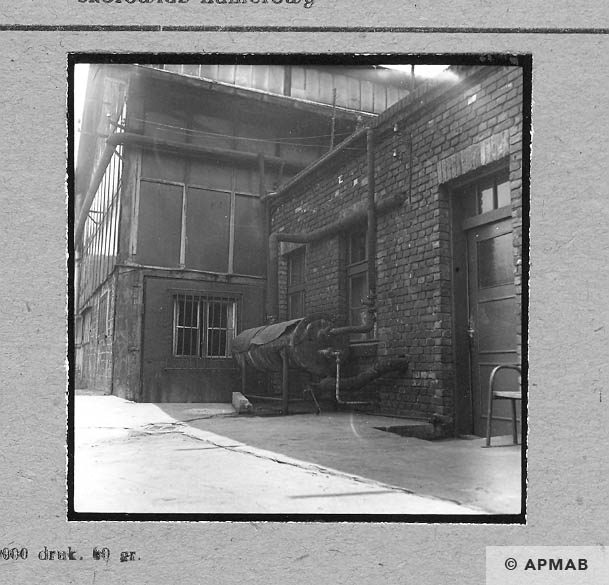 Fragment of annexe arrest block. 1963 APMAB 4648