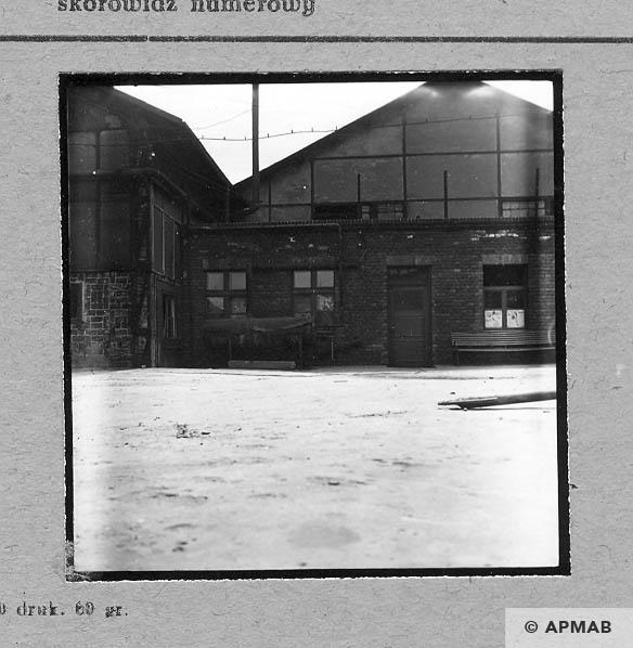 Fragment of annexe arrest block. 1963 APMAB 4650