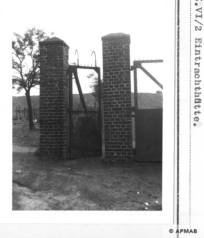Fragment of main gate. 1960 APMAB 21304 5