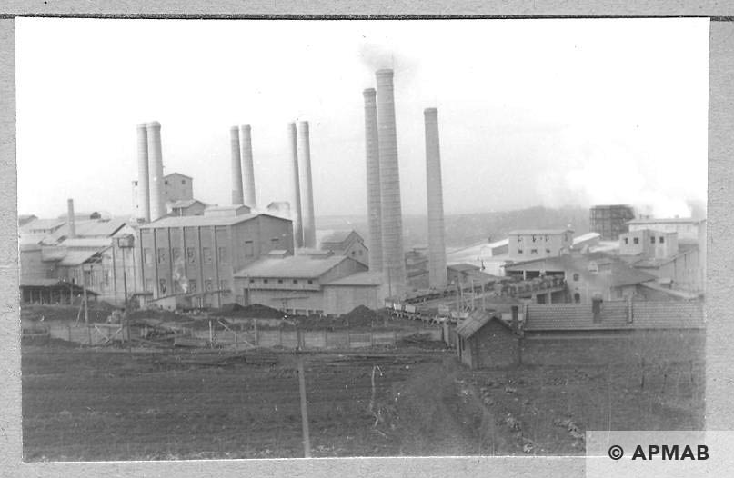Fragment of the cement factory. 1959 APMAB 4375
