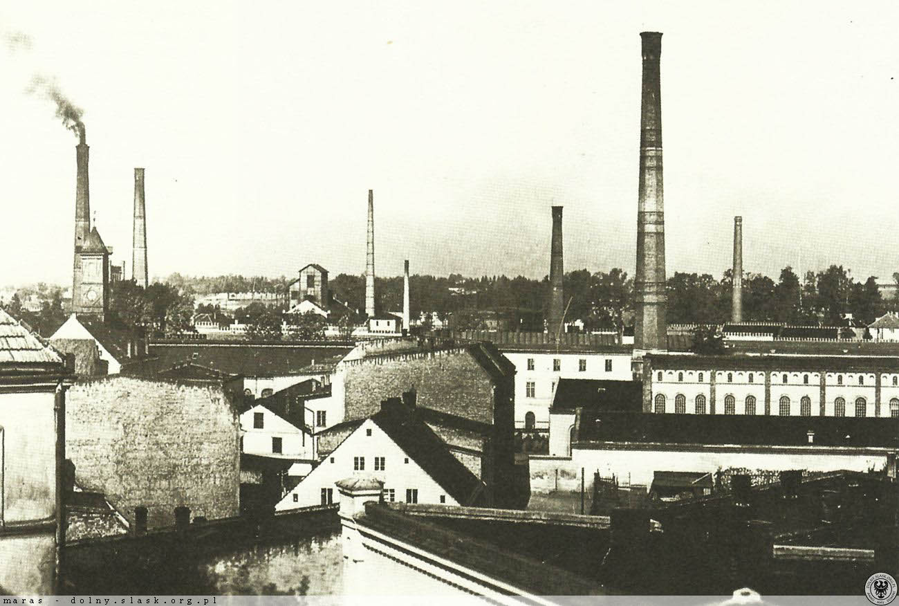 Frotex factory 1930 to 1940. polska.org.pl