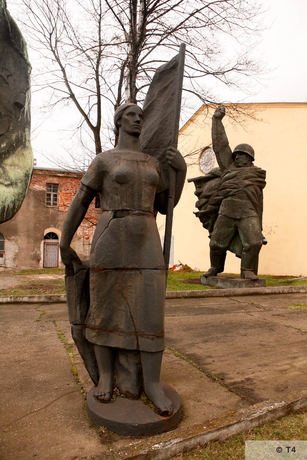 Garden of former statues from communist era. 2007 T4 4942