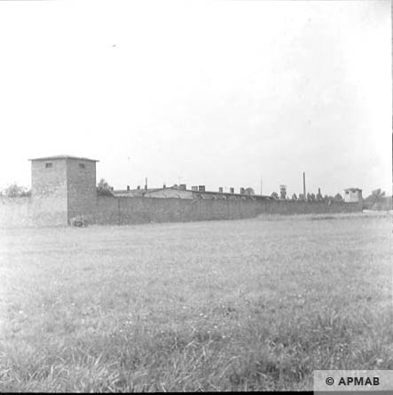 General view of fence from East. 1963 APMAB 5695