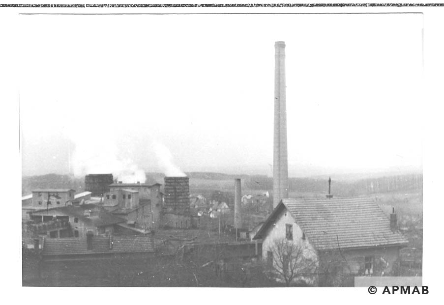 General view of the cement factory Goleszow. 1959 APMAB 22269 1